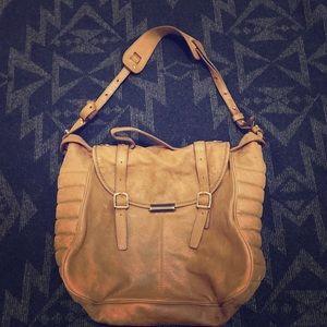 JCREW leather satchel