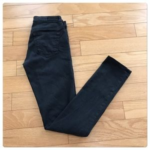 "NWT, AG ""The Slit- Cigarette Leg"" Grey Jeans!"