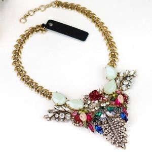 NWT! J. Crew Floral Statement Necklace