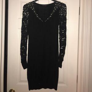 Miss.Selfridge- black sweater dress