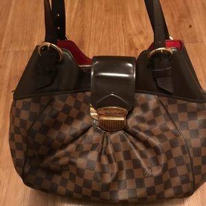 Louis Vuitton Sistina GM Bag in LV Damier Ebene