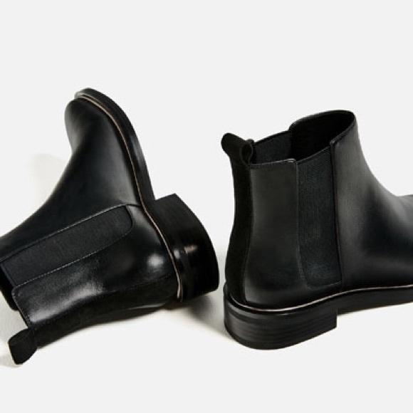 eba2bd81661 Zara Chelsea Boots Size 7.5 Womens