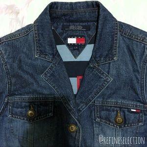 Tommy Hilfiger Jeans 85 Logo Denim Jacket