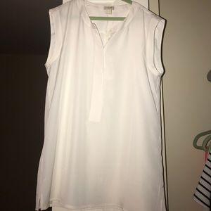 JCREW white blouse. Never worn before