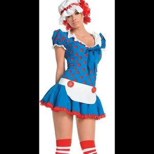 🐝🆕Adult Ragedy Ann sexy costume