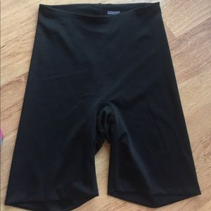 Sara Blakely SPANX Black Shorts Shapewear Size M