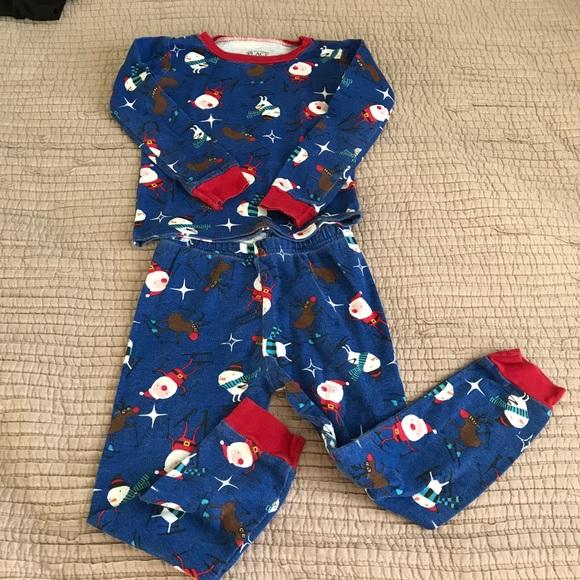 3t christmas pajamas