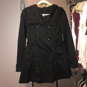 H&M Trench Coat Size 2