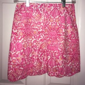 LILLY PULITZER SCALLOPED SKIRT