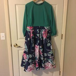 Floral Detail Dress