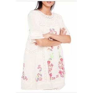 NWT Free People Victorian Dress Ivory XS $168