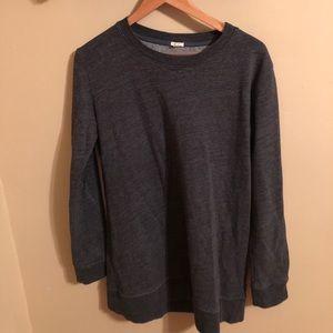 J.Crew Solong grey sweatshirt tunic XS