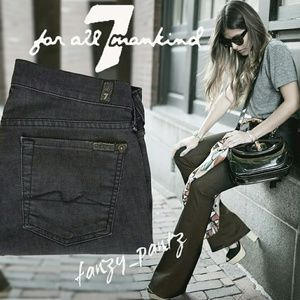 7FAM Super Flare jeans 28,  7 for All Mankind