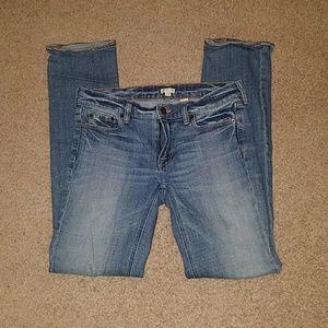 J. CREW Straight leg jeans