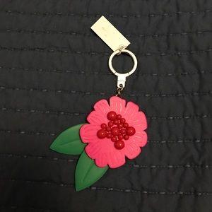 Kate Spade Flower Keychain