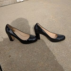 Cole Haan patent leather pumps, US 7 1/2 NARROW