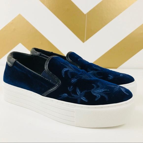 "f68ea85ab78 Kenneth Cole Shoes - NWOT-Kenneth Cole ""Alesy"" Velvet Platform Sneakers"