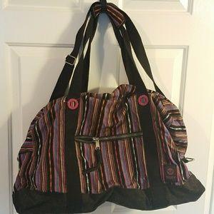 Roxy Weekender Bag - Multi Color Stripe