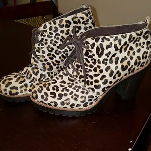 Sperry Cowhide Boots