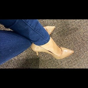 Brand new in box! Nude BCBG pumps Size 7