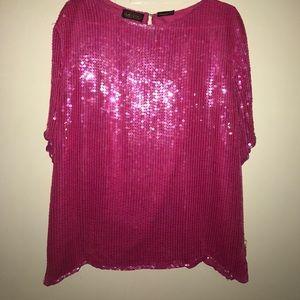 Pink vintage oversized shirt