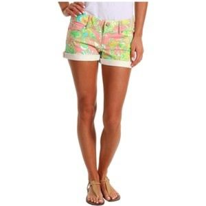 Vintage Lilly Pulitzer Clifton Jean Short