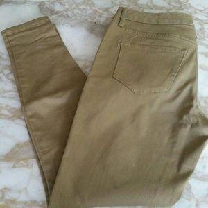 Mossimo Mid-rise khaki legging