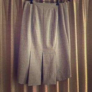 EXPRESS pencil skirt with kick pleat. So polished!