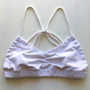 Other - Cute Seamless Strappy Back Sports Bra Yoga Workout