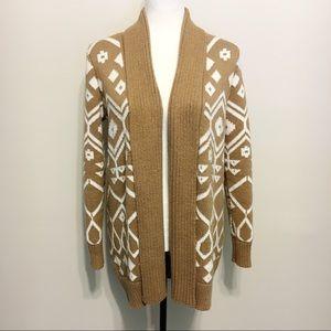 Old Navy Tribal Chunky Knit Cardigan