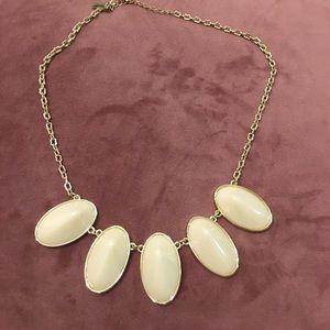 jewelmint briar rose cream thorn necklace