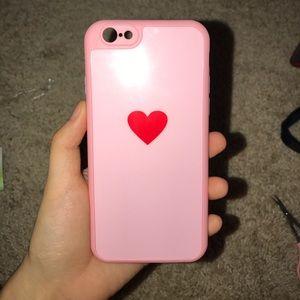 Iphone 6 heart phone case