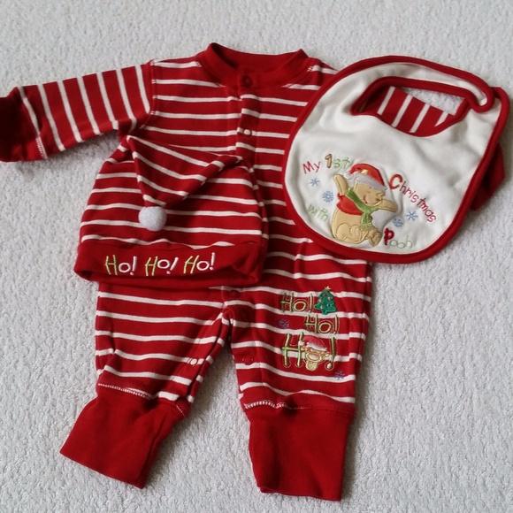 Disney Other - Disney Baby 3 Piece Set First Christmas Boy Girl 8a7415f6e