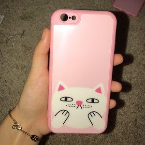 Iphone 6 cute cat phone case
