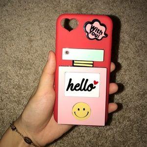Iphone 7 mirror phone case