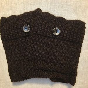 Accessories - Boot Cuffs, Dark Brown