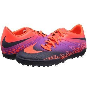 Nike HypervenomX Phelon II TF Soccer Shoes Size 10