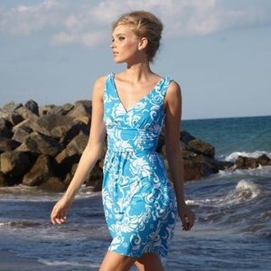 NWT Ariel Blue Shianne Lilly Pulitzer Dress