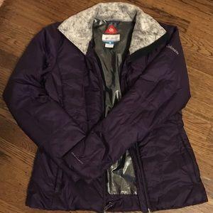 Columbia Omni Heat purple winter jacket like new!