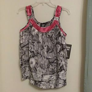 NWT Sharon Young sleeveless dressy top Small