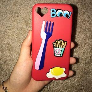 Iphone 7 cute phone case