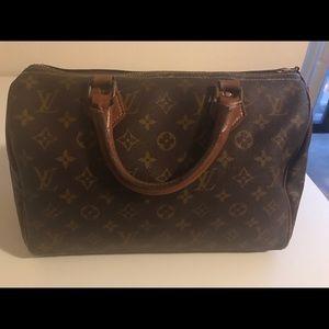 Vintage 1970s/early 1980s Louis Vuitton Speedy Bag