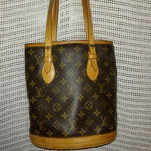 Louis Vuitton Petit Bucket EUC Date Code SD0012