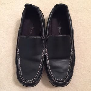 Boys Cole Haan Black loafers size 2