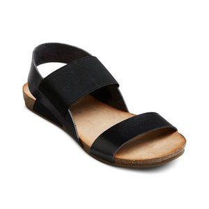 Black Tameka Sandals