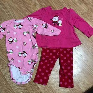 Other - Baby comfy Christmas set