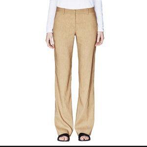 Theory Emery crunch linen pants