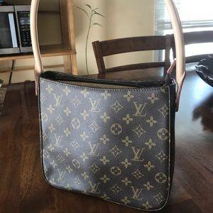 L V brown bag .