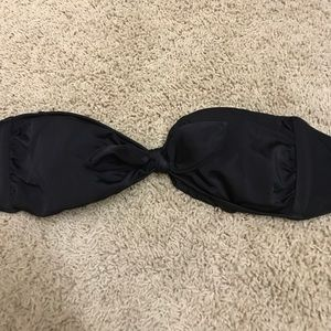 Victoria secret strapless swim top