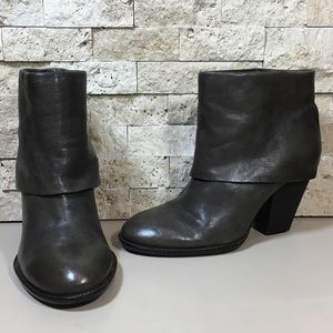 Vince Camuto Leather Ankle Boots 7.5